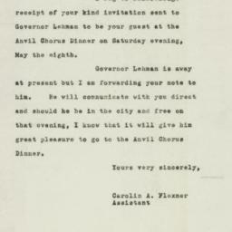 Letter : 1948 April 14