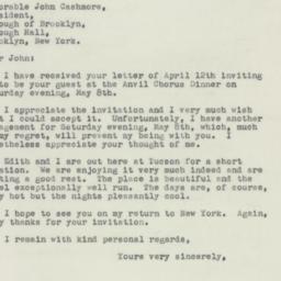 Letter : 1948 April 16