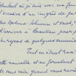 Letter: 1953 September 6