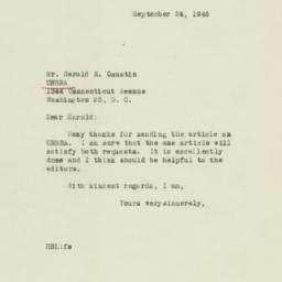 Letter : 1946 September 24