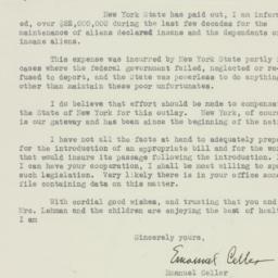 Letter: 1933 August 19