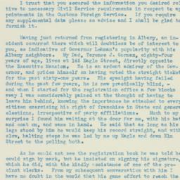 Letter: 1934 October 25