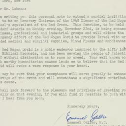 Letter: 1948 August 25