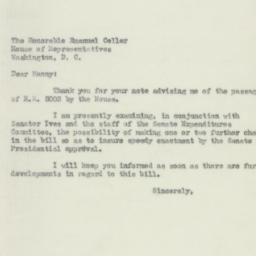 Letter : 1950 July 19