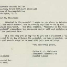 Letter : 1951 October 17
