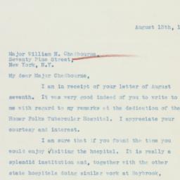 Letter : 1936 August 13