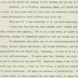 Speech: 1942 January 23