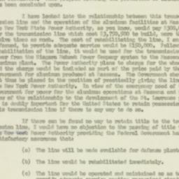Letter : 1950 December 22