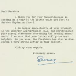 Letter : 1951 June 14