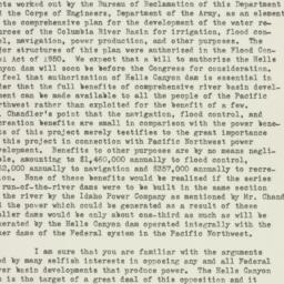 Letter : 1951 July 24