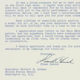 Letter : 1957 January 7