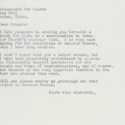 Letter : 1962 October 17