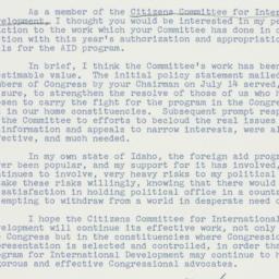 Letter : 1961 October 18