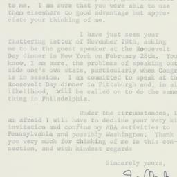 Letter : 1956 November 27