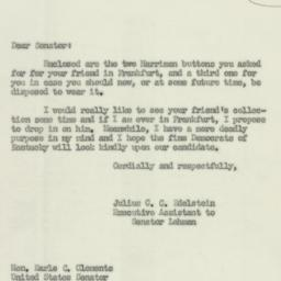 Letter: 1952 May 24