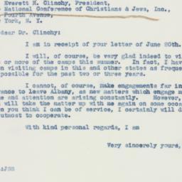 Letter : 1942 June 25