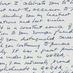 Letter : 1958 March 23