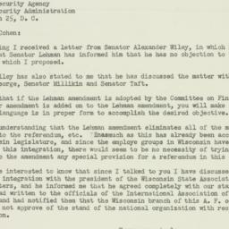 Letter : 1950 April 19