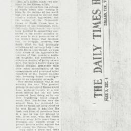 Clipping : 1951 November 27