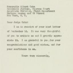 Letter : 1949 September 17