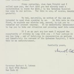 Letter : 1947 December 9