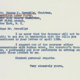 Letter : 1941 April 18