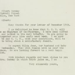 Letter : 1947 December 22