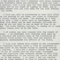Letter : 1954 November 11