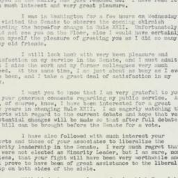 Letter : 1959 January 9