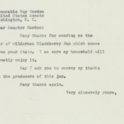 Letter : 1953 June 27