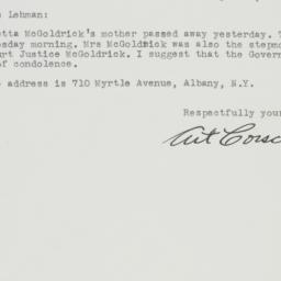 Letter : 1946 September 15