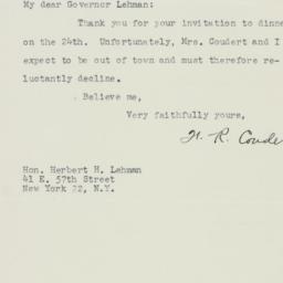 Letter : 1947 November 10