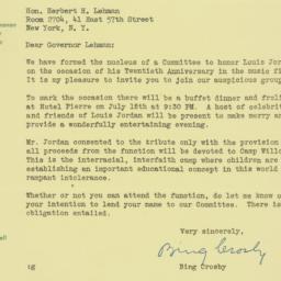 Letter : 1947 June 19