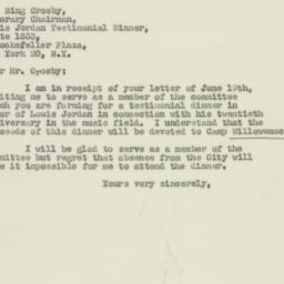 Letter : 1947 June 20