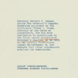 Letter : 1937 August 27