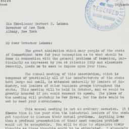 Letter : 1937 September 29