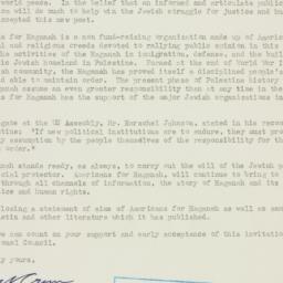 Letter : 1947 November 6