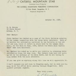 Letter : 1938 October 20