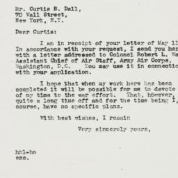 Letter : 1942 May 18