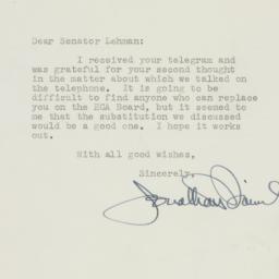 Letter : 1950 July 8