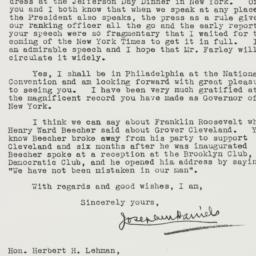Letter : 1936 May 6