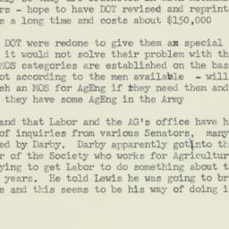 Memorandum : 1955 June 2