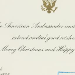 Letter : 1939 December 25