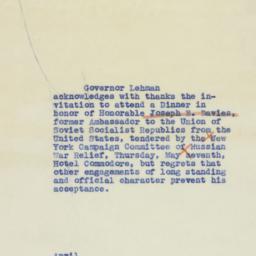 Letter : 1942 April 25