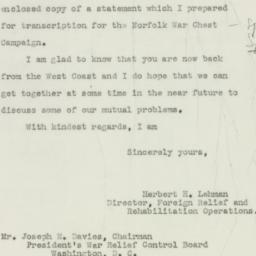 Letter : 1943 February 17