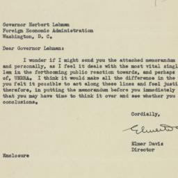 Letter : 1943 November 5