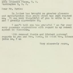 Letter : 1953 June 23