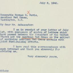Letter: 1942 July 6