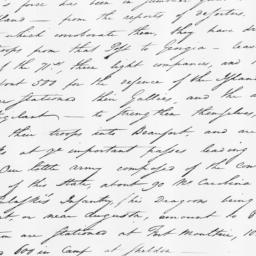 Document, 1779 August 31