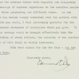 Letter : 1939 January 4